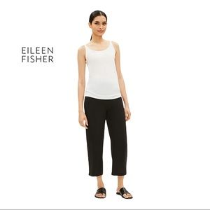 Eileen Fisher SYSTEM SILK JERSEY LONG CAMI PP/PTP